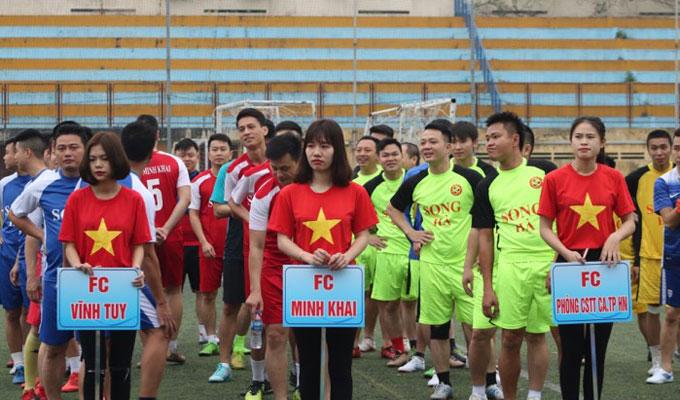 Một số hình ảnh tại giải bóng đá Song Hà 2018 4