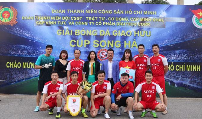Một số hình ảnh tại giải bóng đá Song Hà 2018 6