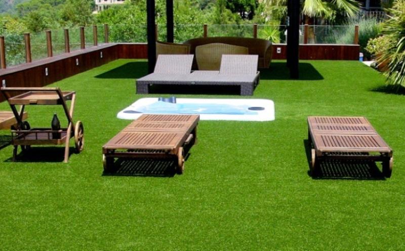 3. Thi côngthảm cỏ nhân tạo sân vườn 1
