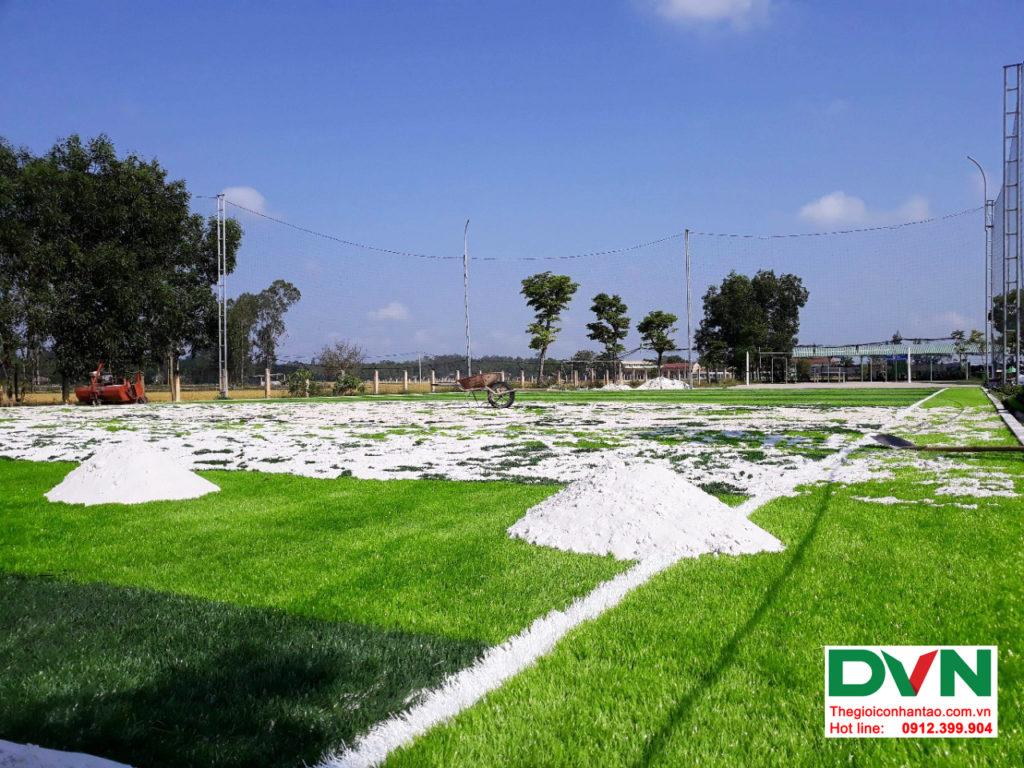 Dự án sân bóng cỏ nhân tạo tại trường THPT Hùng Vương, Quảng Nam 2