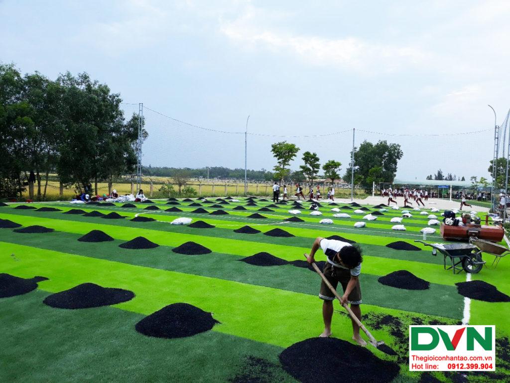 Dự án sân bóng cỏ nhân tạo tại trường THPT Hùng Vương, Quảng Nam 3