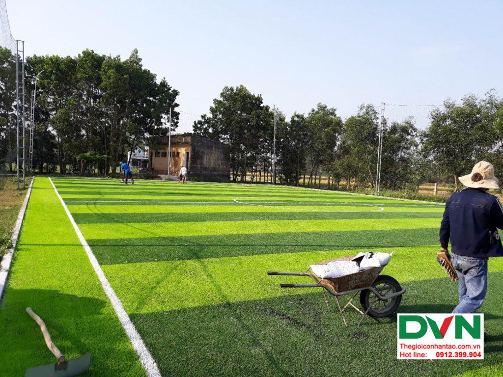 Dự án sân bóng cỏ nhân tạo tại trường THPT Hùng Vương, Quảng Nam 4