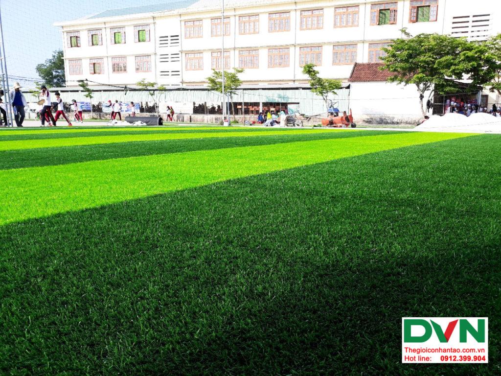 Dự án sân bóng cỏ nhân tạo tại trường THPT Hùng Vương, Quảng Nam 5