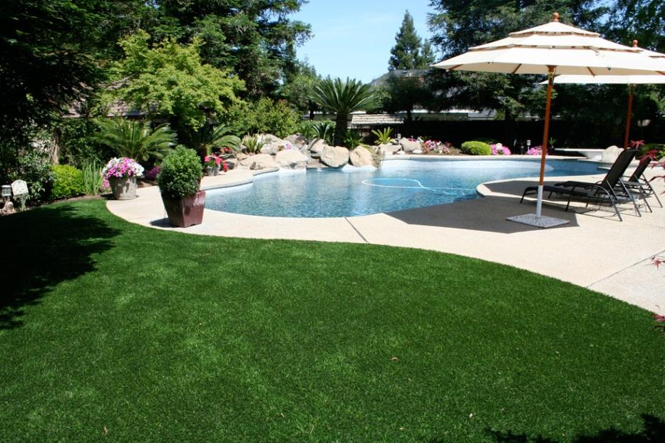 Bạn có thể sử dụng cỏ nhân tạo cạnh một hồ bơi không? 1