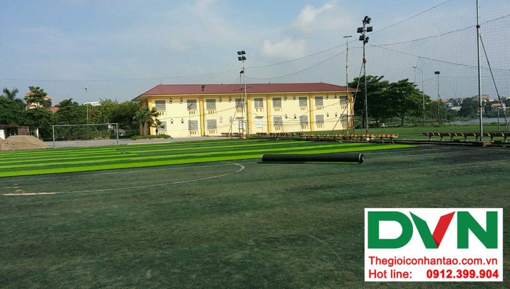Một số hình ảnh của dự ánsân bóng cỏ nhân tạo Tp Việt Trì, Phú Thọ: 3