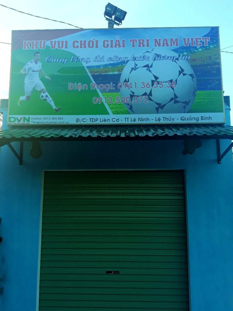 Một số hình ảnh của dự ánsân bóng cỏ nhân tạo tại Lệ Thủy, Quảng Bình 5