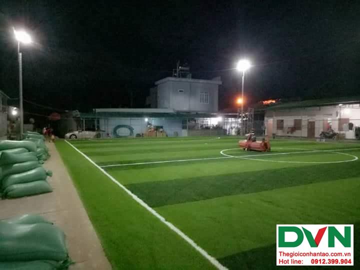 Một số hình ảnh của dự ánsân bóng cỏ nhân tạo tại Đak Glei- Kon Tum 5