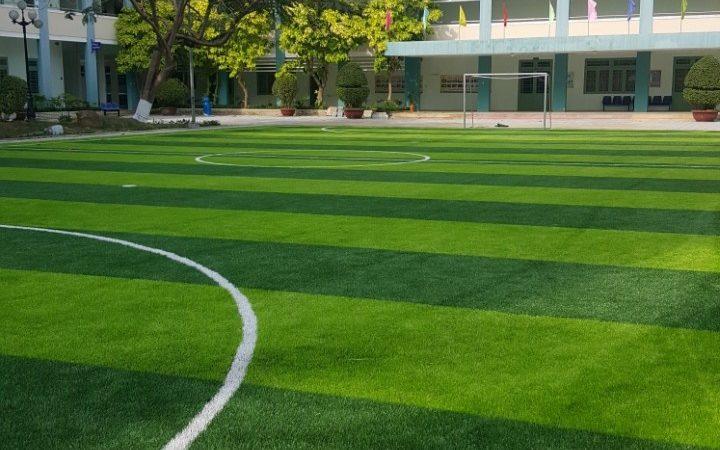 Dự án sân cỏ nhân tạo tại Trường Cao Đẳng Nghề Đà Nẵng