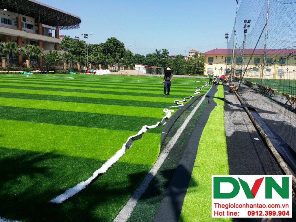 Một số hình ảnh của dự ánsân bóng cỏ nhân tạo Tp Việt Trì, Phú Thọ: 6