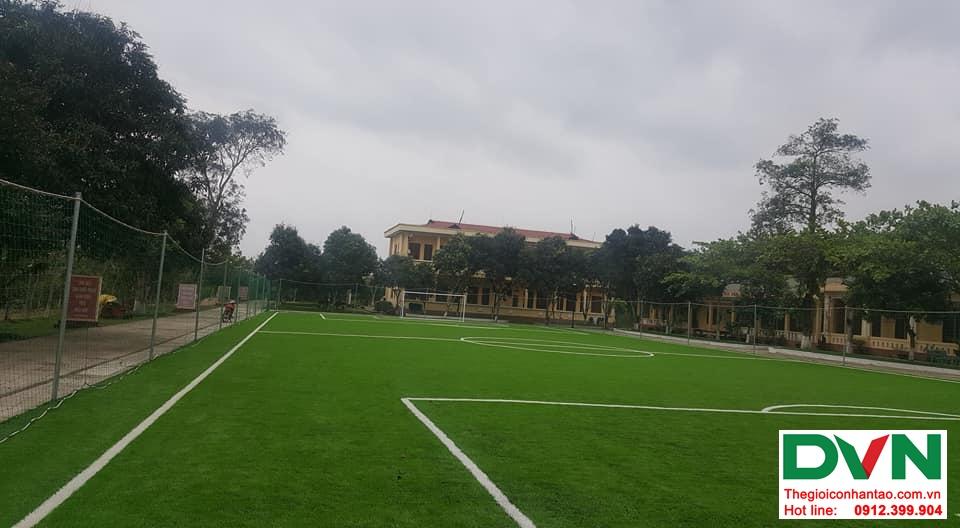Một số hình ảnh của dự ánsân bóng cỏ nhân tạo Tiểu Đoàn 410tại Cam Hiếu, Cam Lộ, Quảng Trị 1
