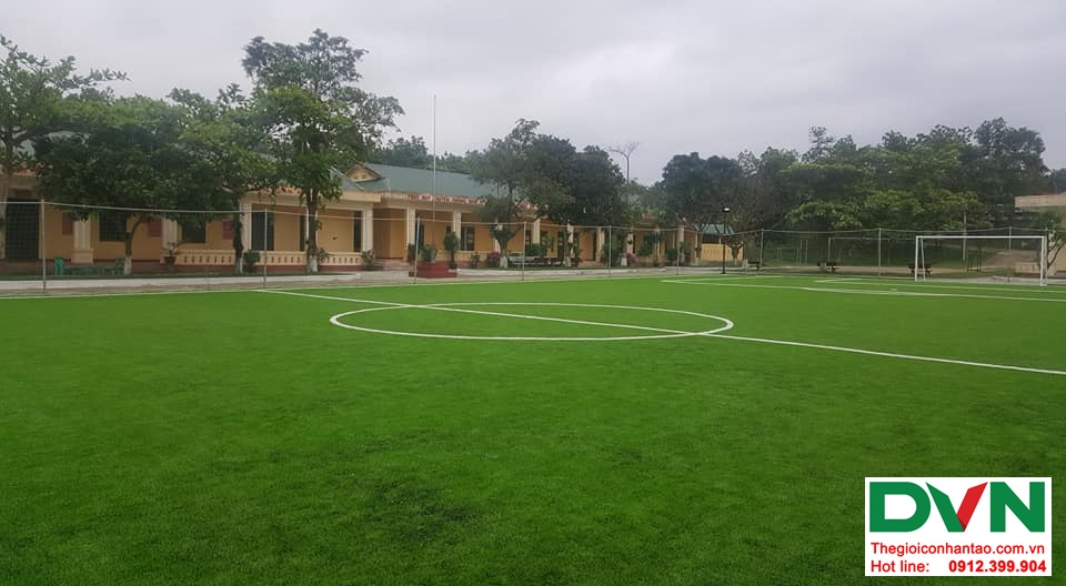 Một số hình ảnh của dự ánsân bóng cỏ nhân tạo Tiểu Đoàn 410tại Cam Hiếu, Cam Lộ, Quảng Trị 2