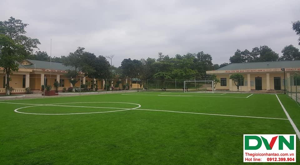 Một số hình ảnh của dự ánsân bóng cỏ nhân tạo Tiểu Đoàn 410tại Cam Hiếu, Cam Lộ, Quảng Trị 3