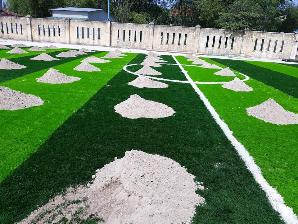 Một số hình ảnh của dự ánsân bóng cỏ nhân tạo Thể dục thể thao - Trường tiểu học Nguyễn Trãi, Thị tr� 4