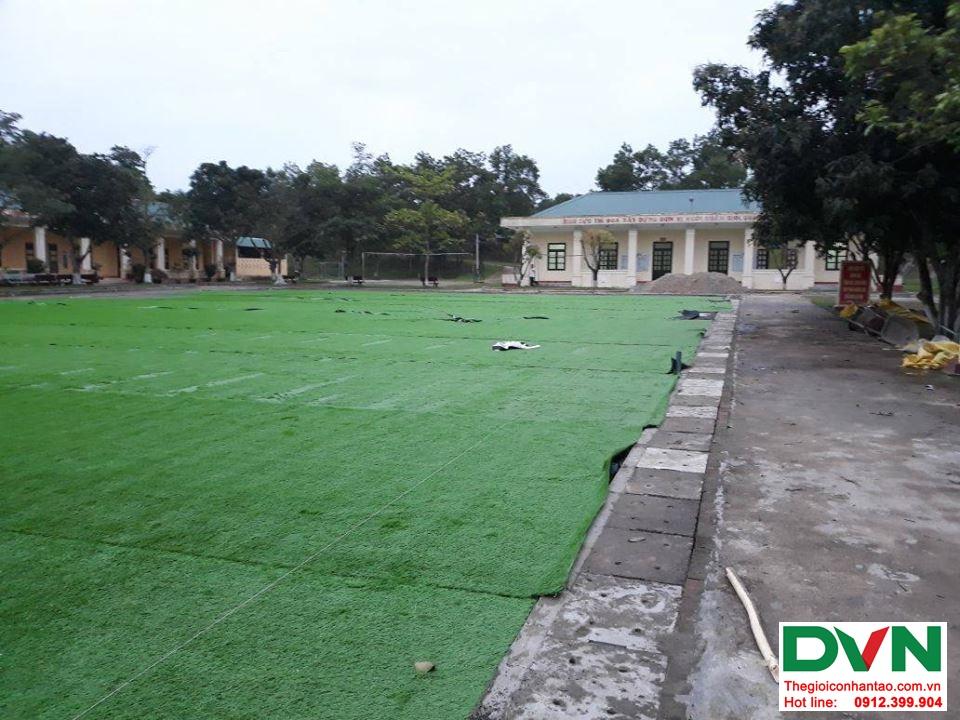 Một số hình ảnh của dự ánsân bóng cỏ nhân tạo Tiểu Đoàn 410tại Cam Hiếu, Cam Lộ, Quảng Trị 4