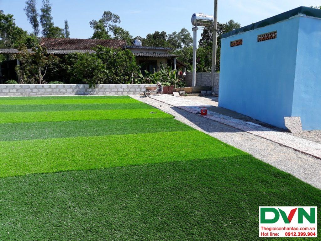 Một số hình ảnh của dự ánsân bóng cỏ nhân tạo tại Lệ Thủy, Quảng Bình 3
