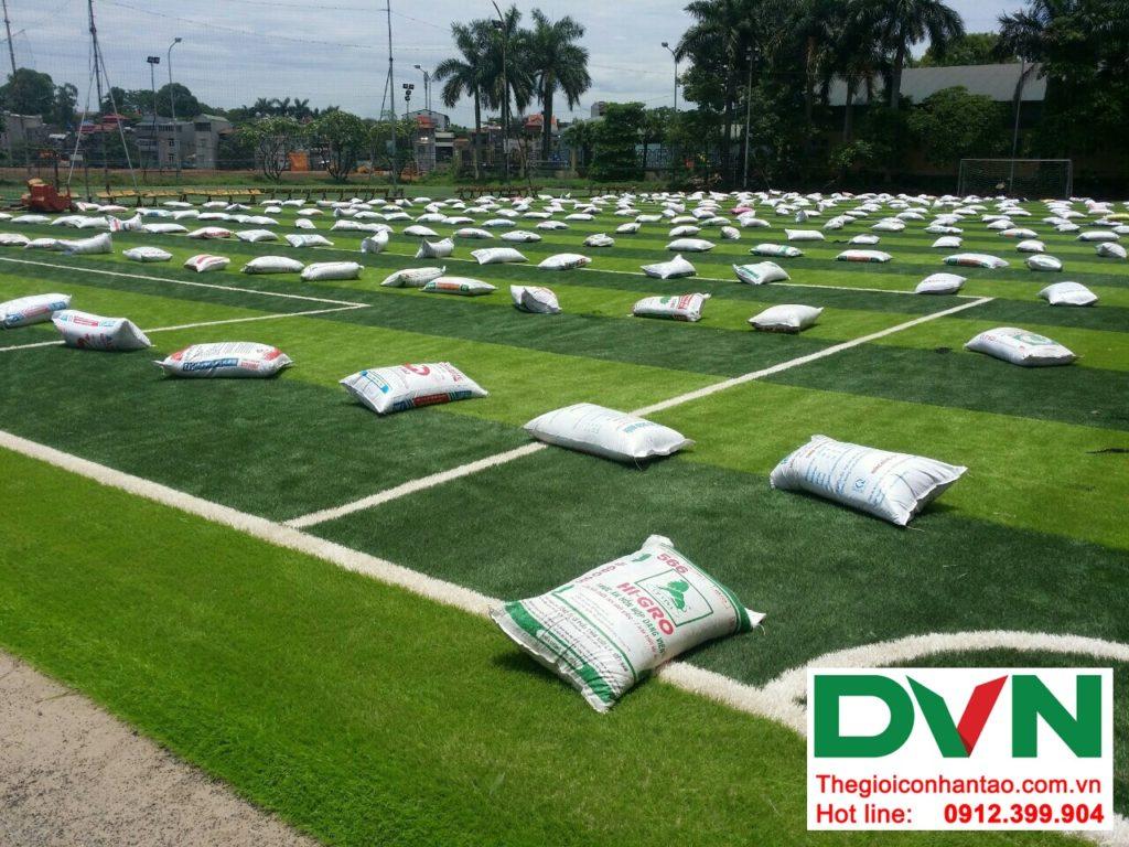 Một số hình ảnh của dự ánsân bóng cỏ nhân tạo Tp Việt Trì, Phú Thọ: 9