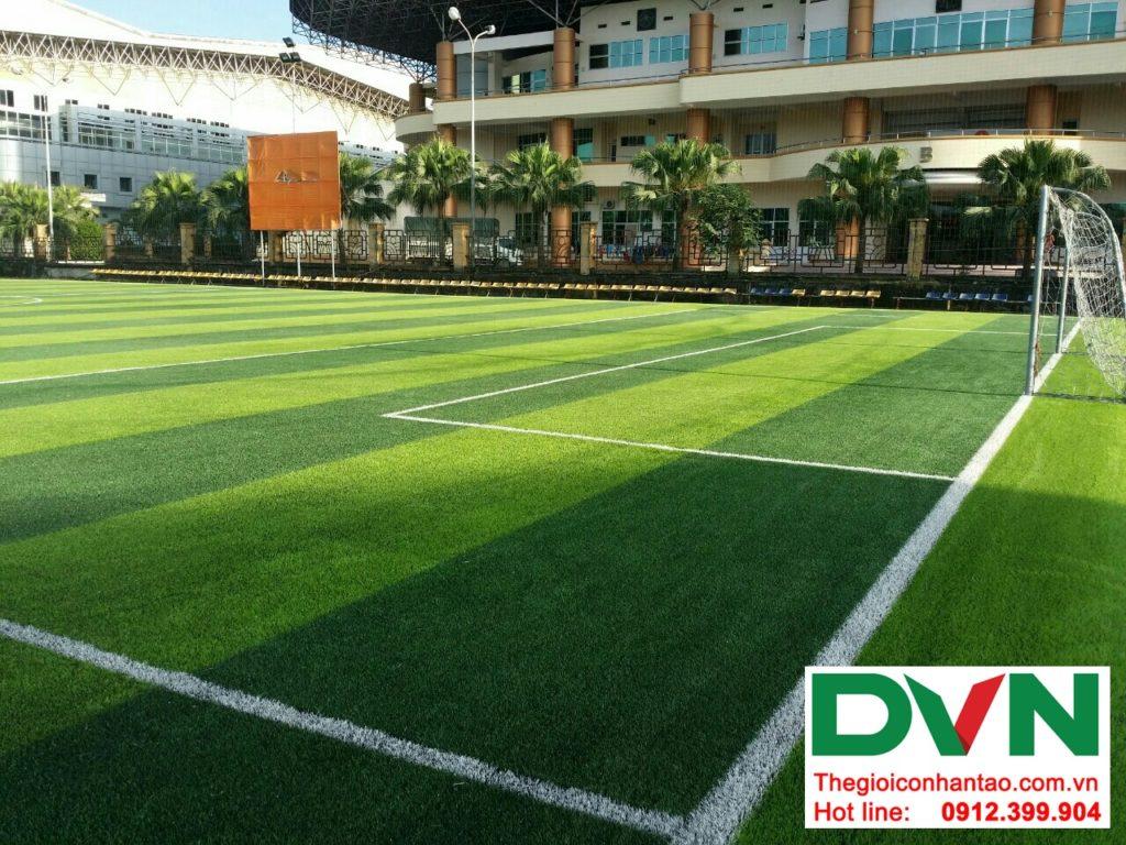 Một số hình ảnh của dự ánsân bóng cỏ nhân tạo Tp Việt Trì, Phú Thọ: 1