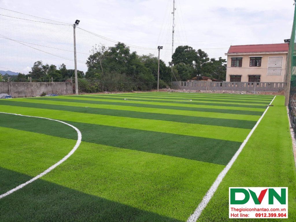 Một số hình ảnh của dự ánsân bóng cỏ nhân tạo tại Bố Trạch, Quảng Bình 1