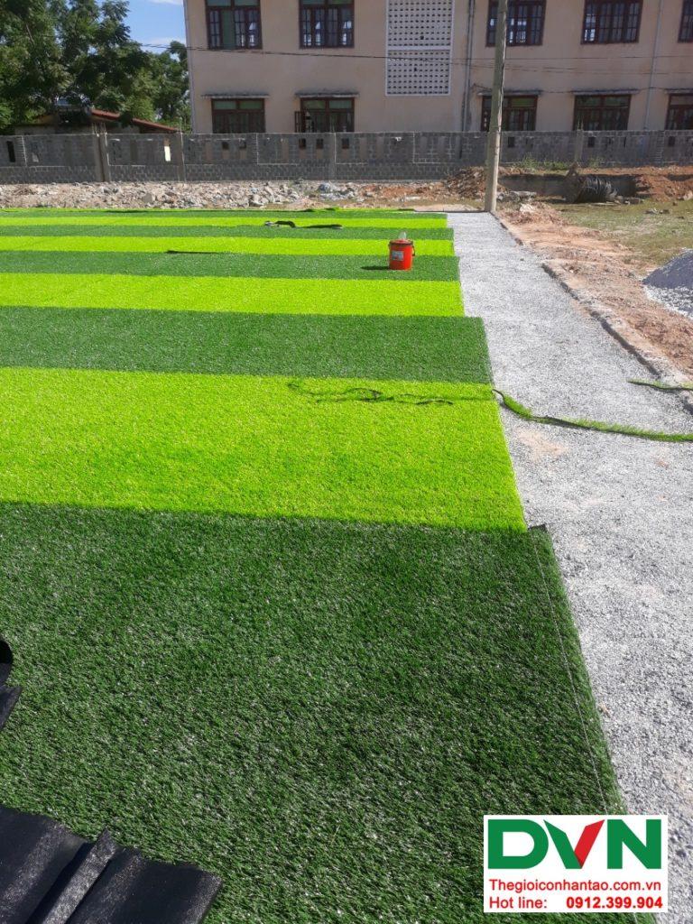 Một số hình ảnh của dự ánsân bóng cỏ nhân tạo tại Bố Trạch, Quảng Bình 3