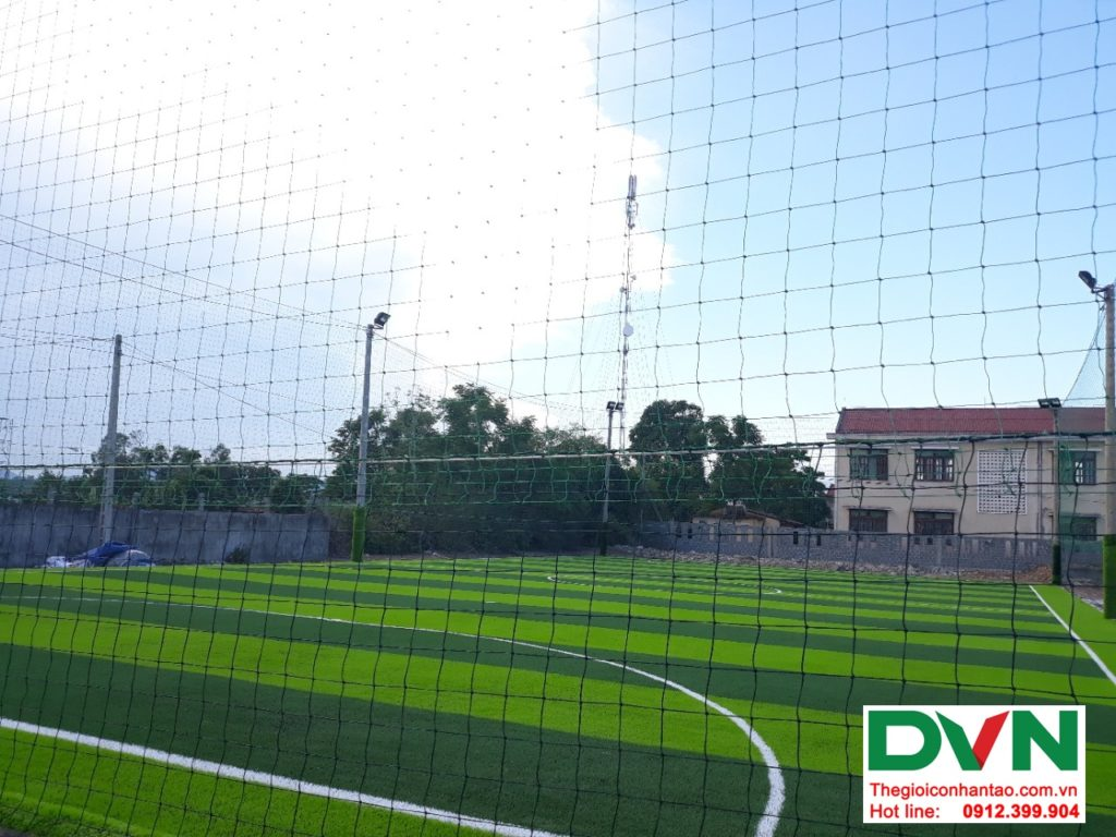 Một số hình ảnh của dự ánsân bóng cỏ nhân tạo tại Bố Trạch, Quảng Bình 9