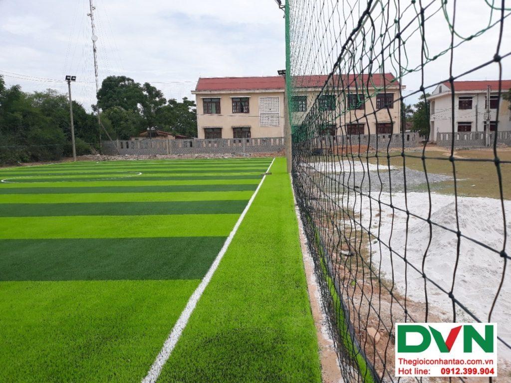 Một số hình ảnh của dự ánsân bóng cỏ nhân tạo tại Bố Trạch, Quảng Bình 8