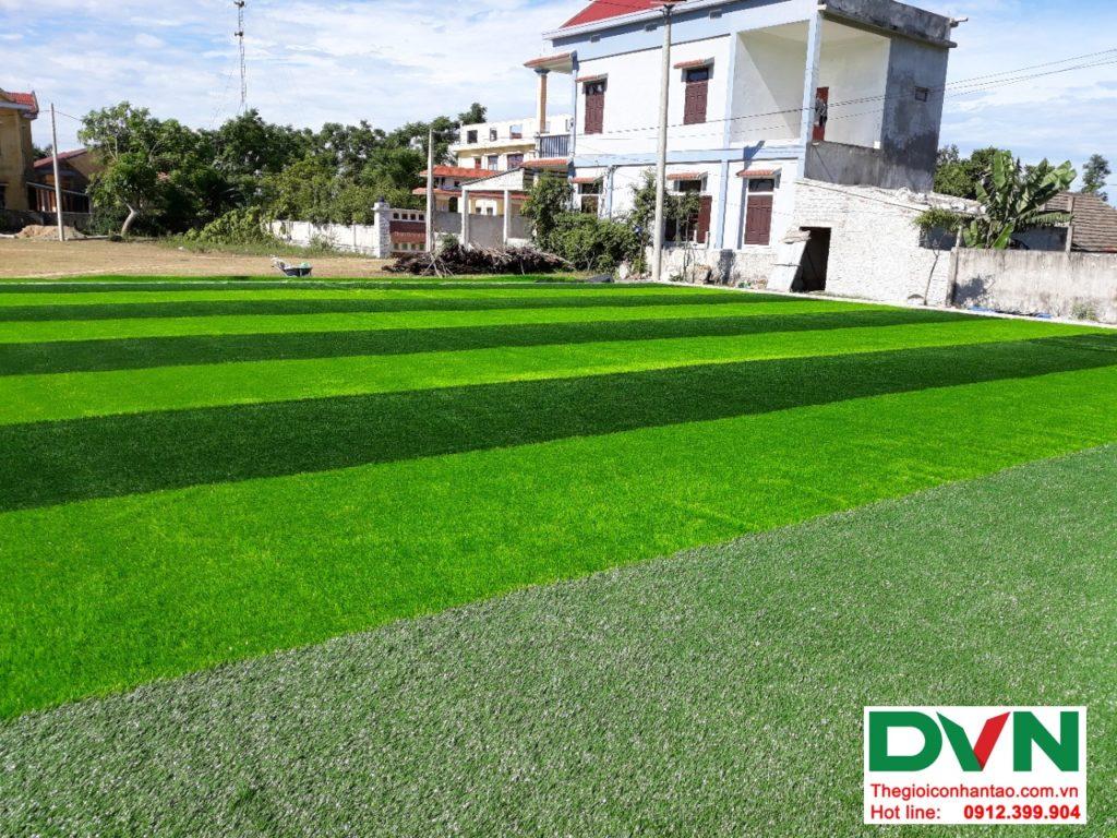Một số hình ảnh của dự ánsân bóng cỏ nhân tạo tại Bố Trạch, Quảng Bình 4
