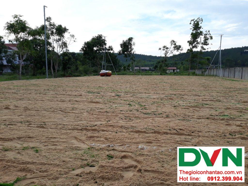 Một số hình ảnh của dự ánsân bóng cỏ nhân tạo tại Bố Trạch, Quảng Bình 5