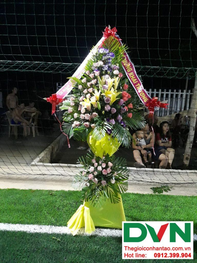 Một số hình ảnh của dự ánsân bóng cỏ nhân tạo tại Bố Trạch, Quảng Bình 7