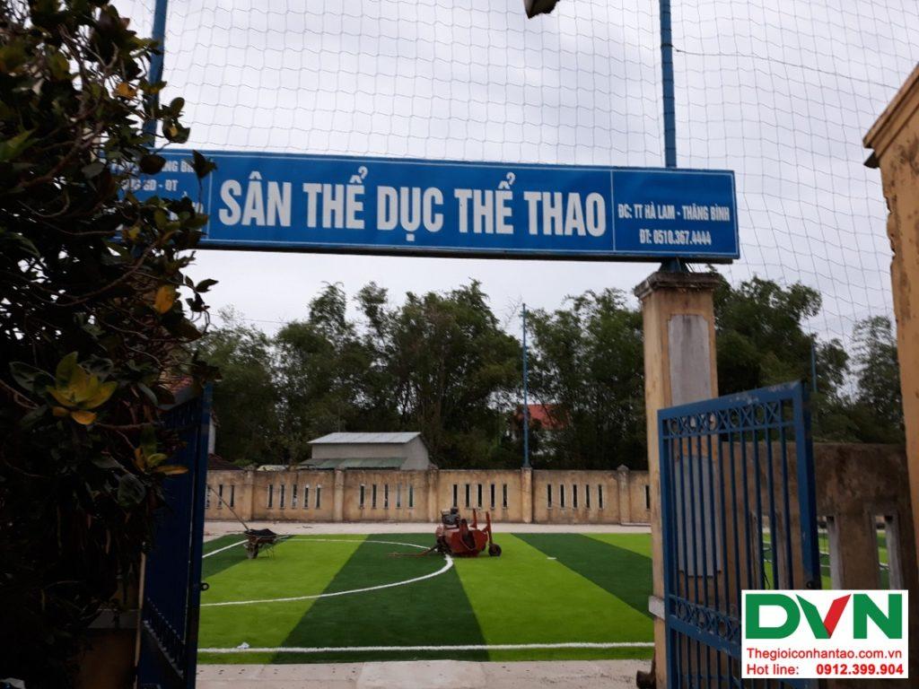 Một số hình ảnh của dự ánsân bóng cỏ nhân tạo Thể dục thể thao - Trường tiểu học Nguyễn Trãi, Thị tr� 1