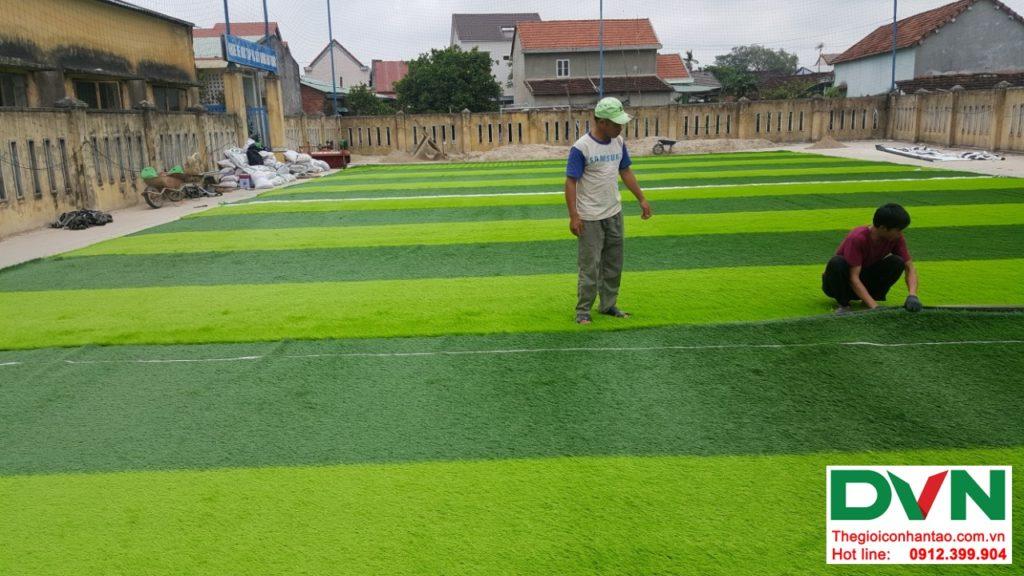Một số hình ảnh của dự ánsân bóng cỏ nhân tạo Thể dục thể thao - Trường tiểu học Nguyễn Trãi, Thị tr� 6