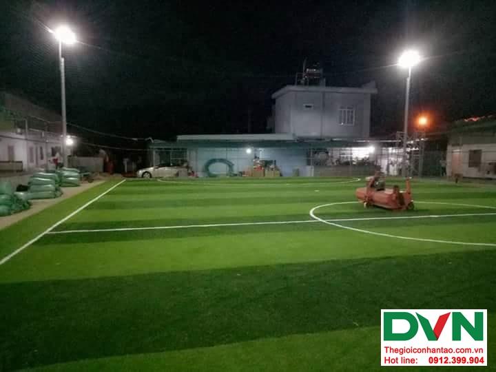 Một số hình ảnh của dự ánsân bóng cỏ nhân tạo tại Đak Glei- Kon Tum 4