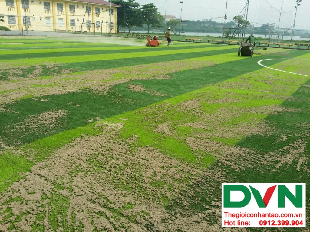 Một số hình ảnh của dự ánsân bóng cỏ nhân tạo Tp Việt Trì, Phú Thọ: 8