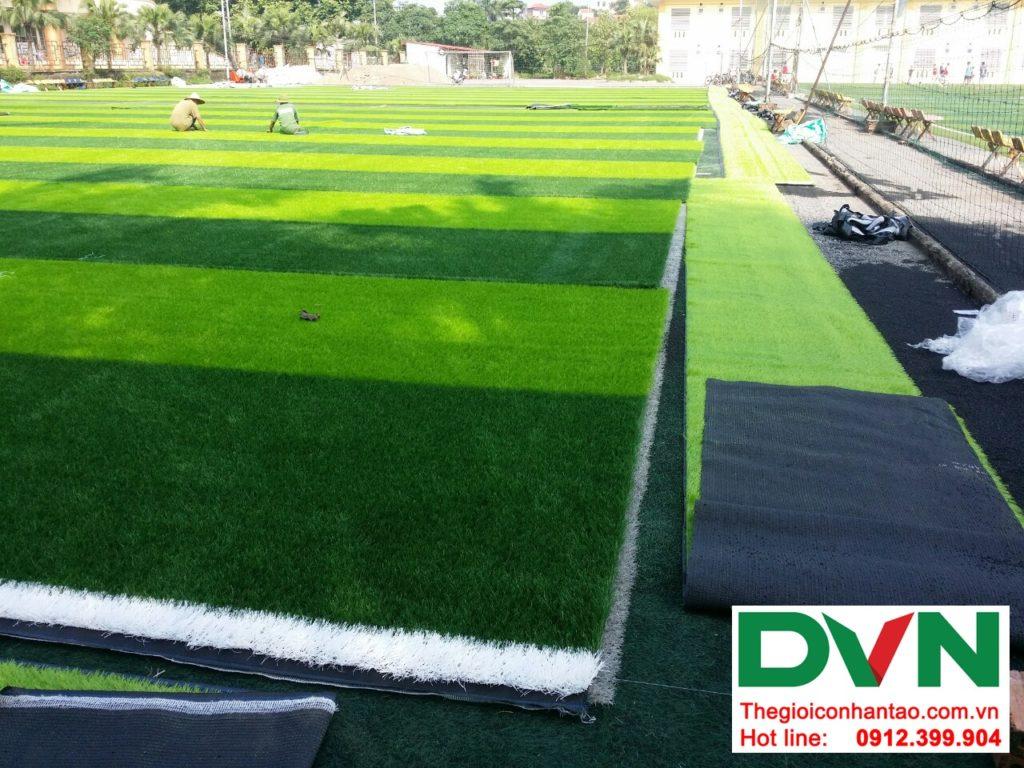 Một số hình ảnh của dự ánsân bóng cỏ nhân tạo Tp Việt Trì, Phú Thọ: 4