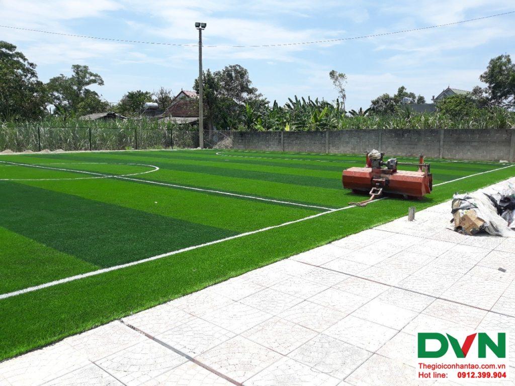 Một số hình ảnh của dự ánsân bóng cỏ nhân tạo tại Lệ Thủy, Quảng Bình 2