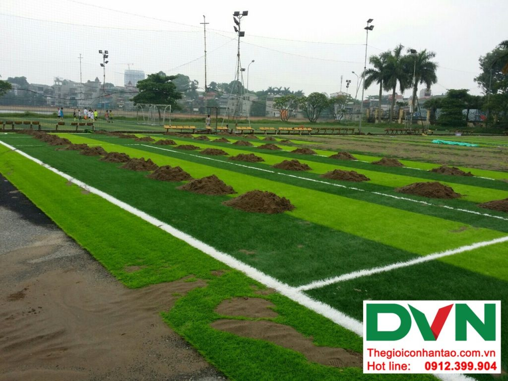 Một số hình ảnh của dự ánsân bóng cỏ nhân tạo Tp Việt Trì, Phú Thọ: 7