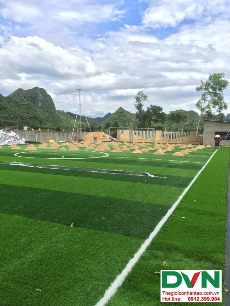 Một số hình ảnh của dự ánsân bóng cỏ nhân tạo tại Trường THPT Bố Trạch số 4, Quảng Bình 3