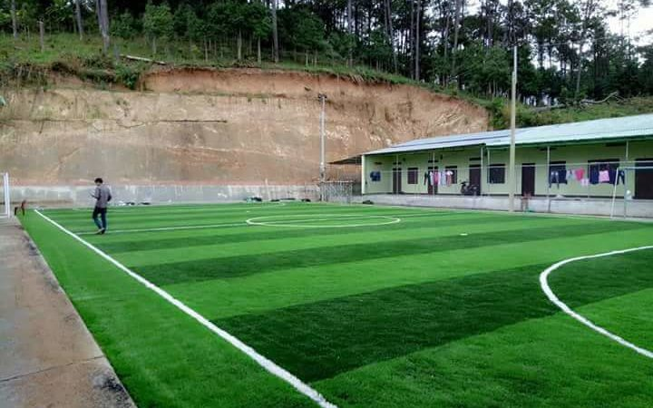 Dự án sân bóng cỏ nhân tạo tại Đak Glei- Kon Tum
