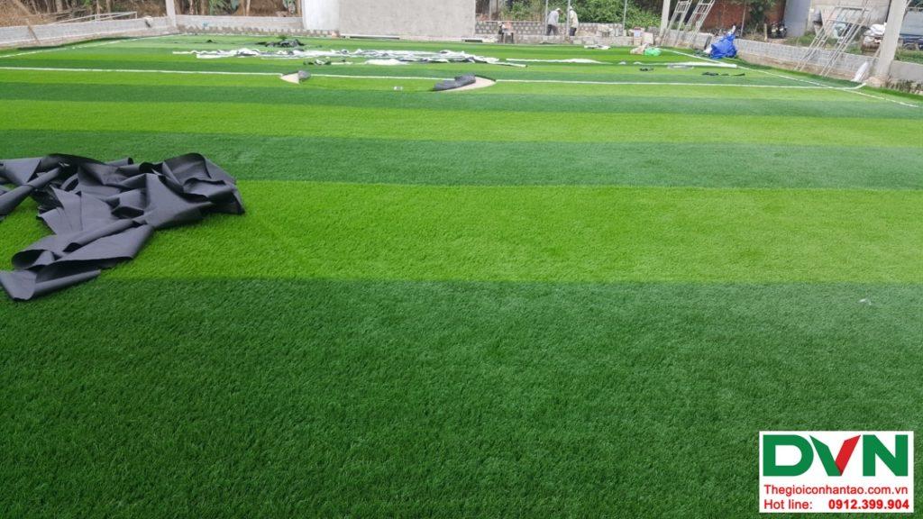 Một số hình ảnh của dự ánsân bóng cỏ nhân tạo tại Duy Xuyên- Quảng Nam 1