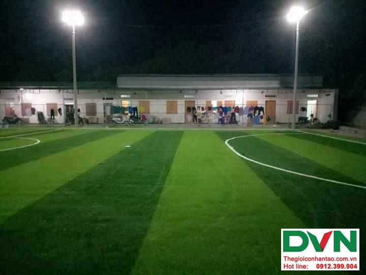 Một số hình ảnh của dự ánsân bóng cỏ nhân tạo tại Đak Glei- Kon Tum 3