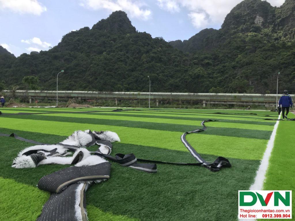 Một số hình ảnh của dự ánsân bóng cỏ nhân tạo tại Quang Hanh, Cẩm Phả, Quảng Ninh 9