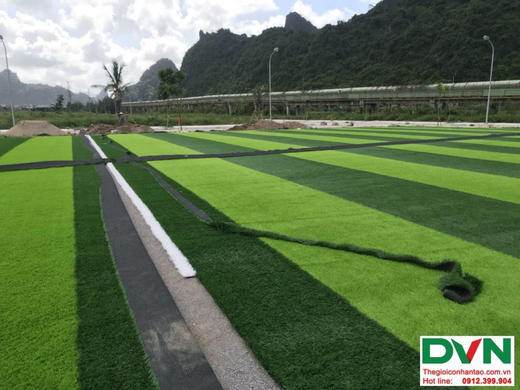 Một số hình ảnh của dự ánsân bóng cỏ nhân tạo tại Quang Hanh, Cẩm Phả, Quảng Ninh 10