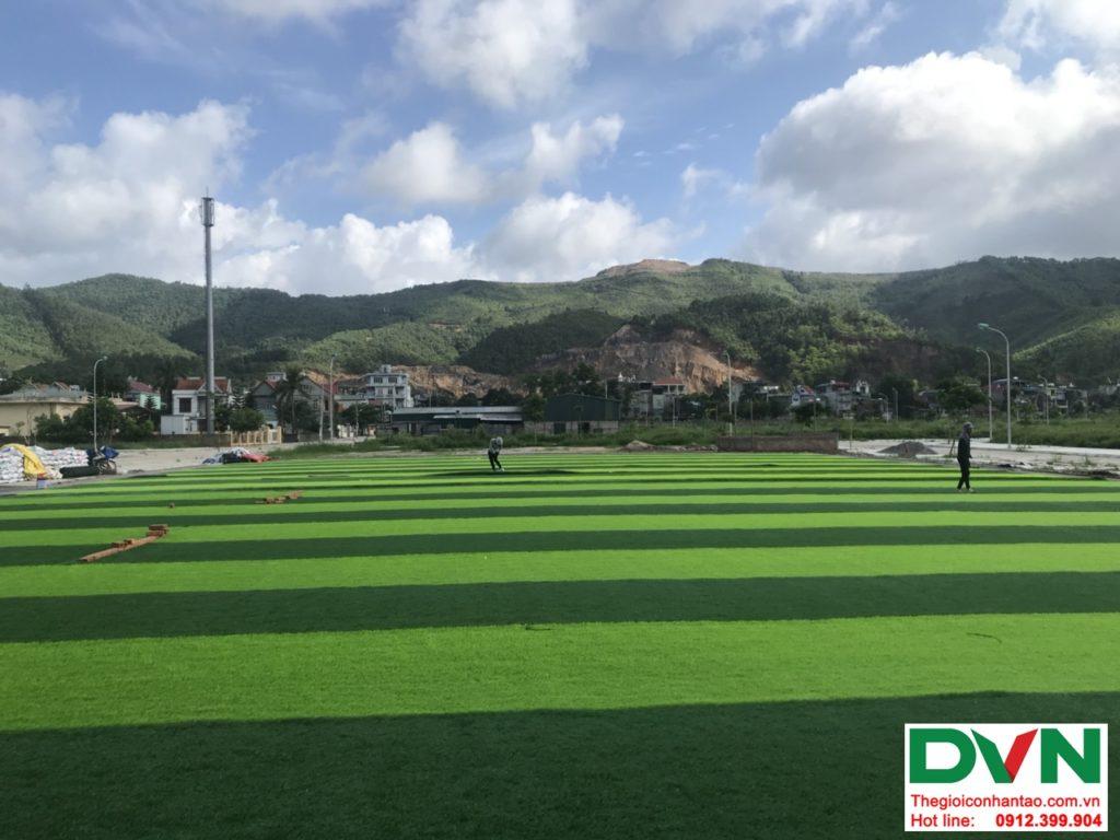 Một số hình ảnh của dự ánsân bóng cỏ nhân tạo tại Quang Hanh, Cẩm Phả, Quảng Ninh 11