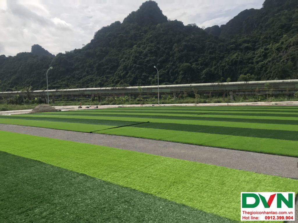 Một số hình ảnh của dự ánsân bóng cỏ nhân tạo tại Quang Hanh, Cẩm Phả, Quảng Ninh 12