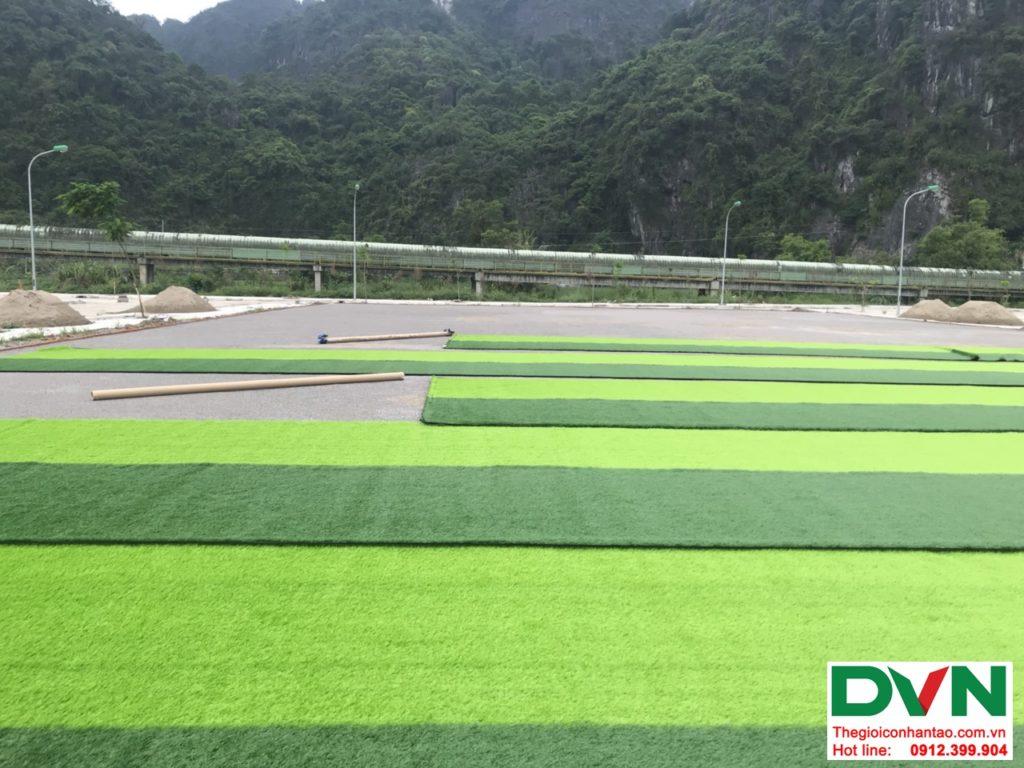 Một số hình ảnh của dự ánsân bóng cỏ nhân tạo tại Quang Hanh, Cẩm Phả, Quảng Ninh 13