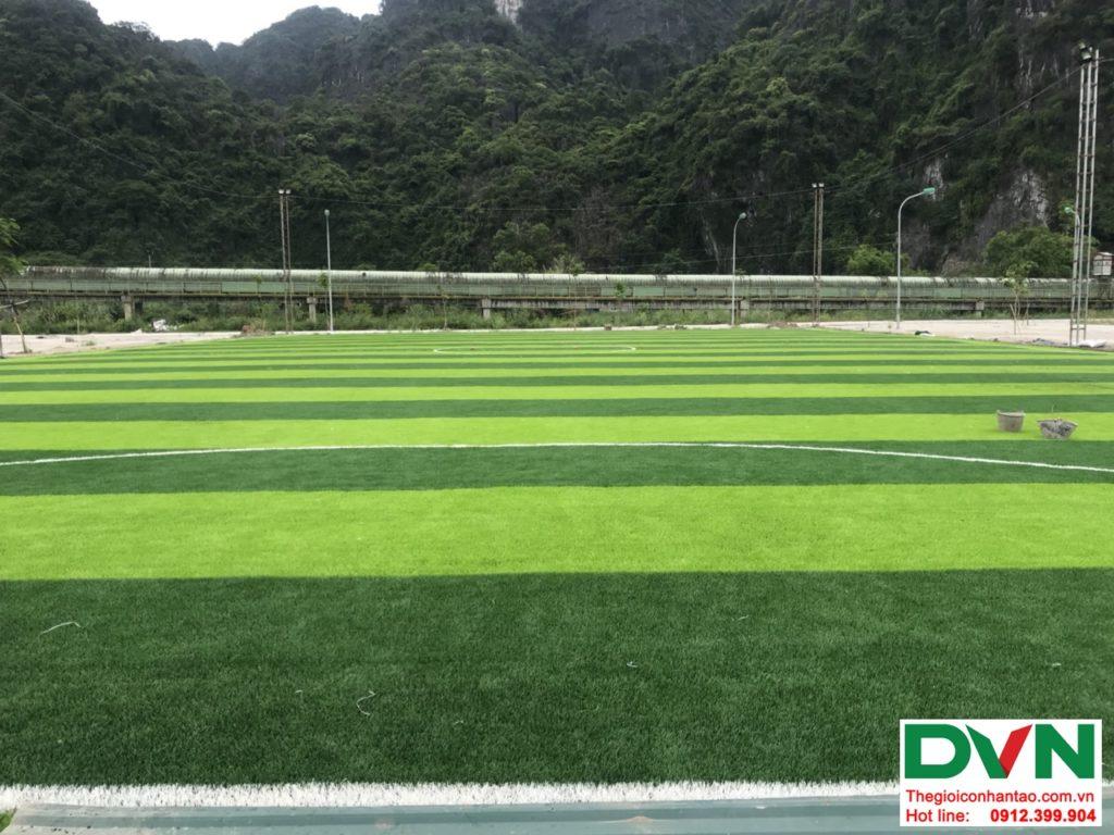 Một số hình ảnh của dự ánsân bóng cỏ nhân tạo tại Quang Hanh, Cẩm Phả, Quảng Ninh 3