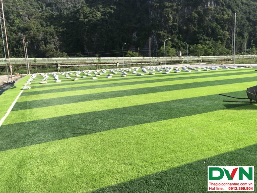 Một số hình ảnh của dự ánsân bóng cỏ nhân tạo tại Quang Hanh, Cẩm Phả, Quảng Ninh 4