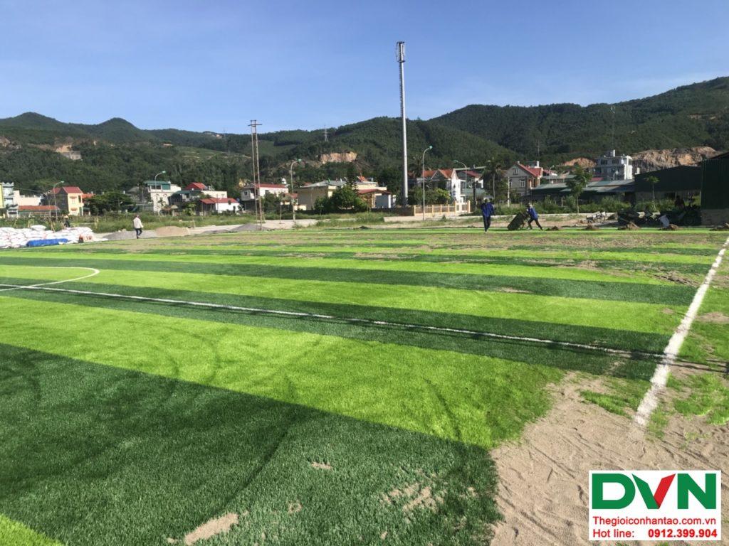 Một số hình ảnh của dự ánsân bóng cỏ nhân tạo tại Quang Hanh, Cẩm Phả, Quảng Ninh 7