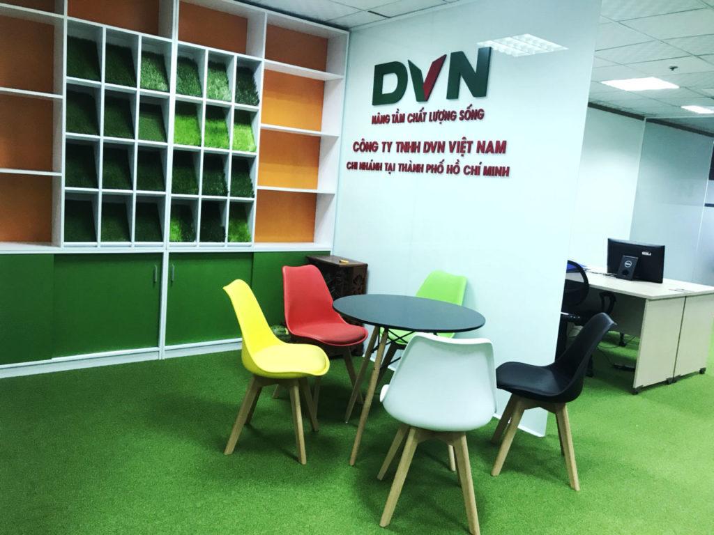 Một số hình ảnh của dự án trải văn phòng Chi nhánhHồ Chí Minh- Công ty TNHH DVN Việt Nam 1