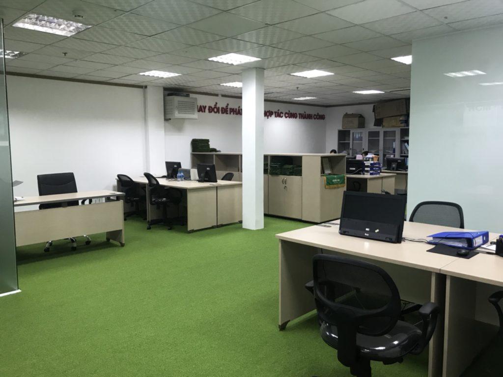 Một số hình ảnh của dự án trải văn phòng Chi nhánhHồ Chí Minh- Công ty TNHH DVN Việt Nam 3