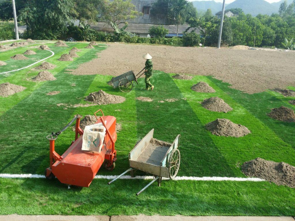 Một số hình ảnh của Dự án sân bóng cỏ nhân tạo tại Linh Sơn, Đồng Hỷ, Thái Nguyên 20